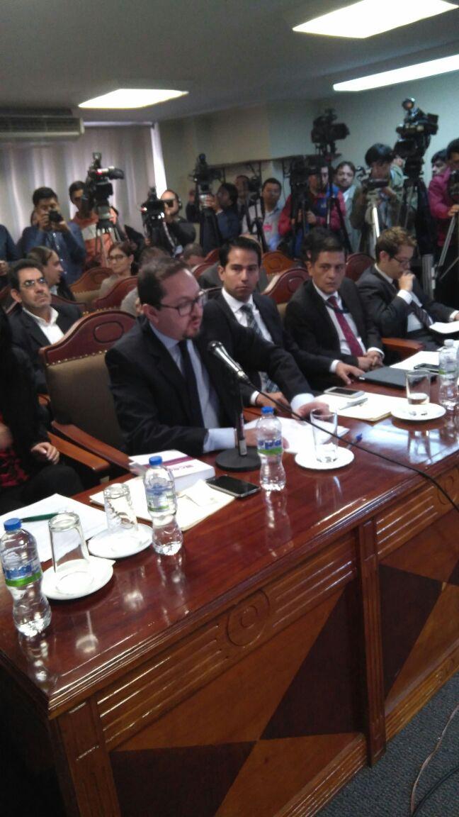 Diego Guarderas, Subsecretario Jurídico de la Presidencia de la República,