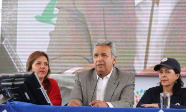 Lenín Moreno y su equipo económico revisan en Guayaquil el proyecto de Ley Económica Urgente