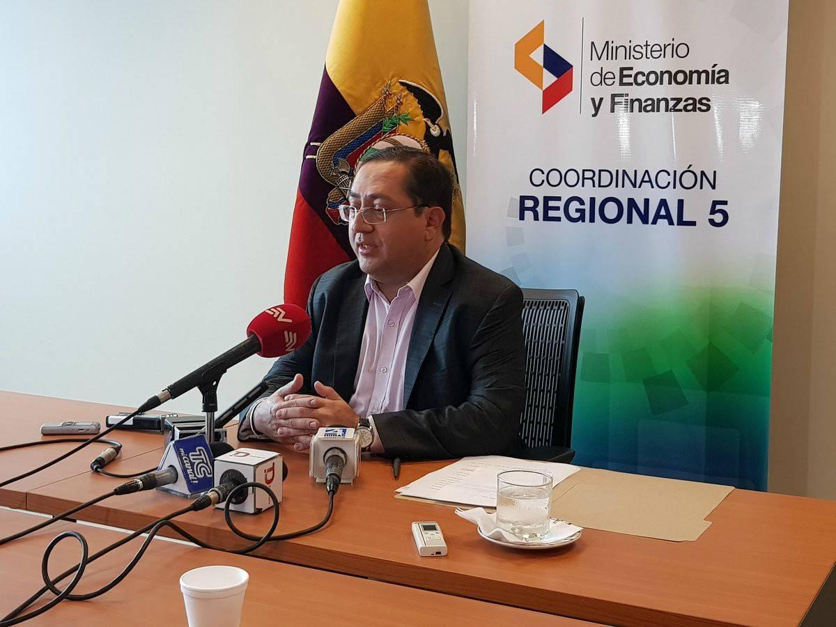 Ministro de Finanzas Carlos De La Torre 1