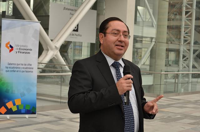 Ministro de Finanzas Carlos De La Torre