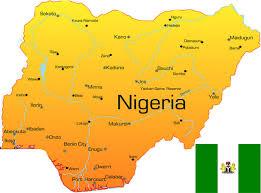 Nigeria mapa
