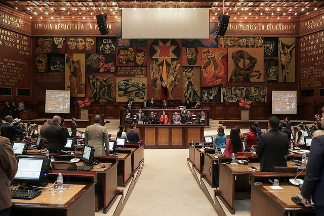 Pleno asamblea nacional