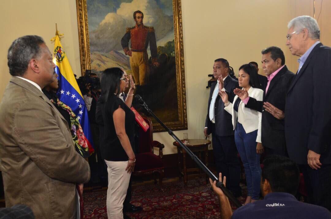 posesión gobernadores venezuela