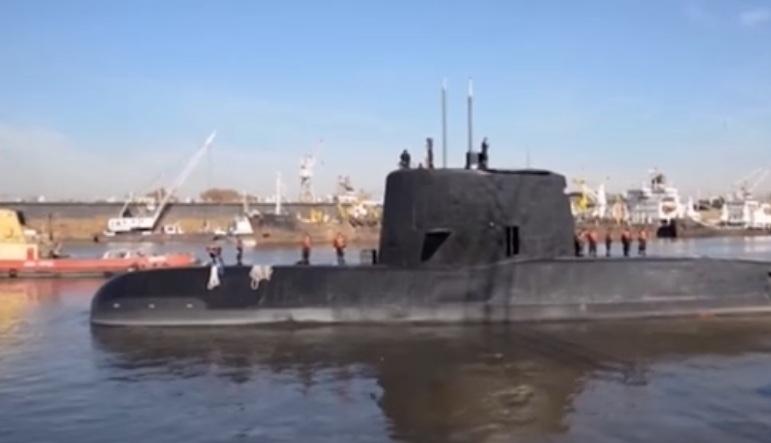 submarino Armada Argentina