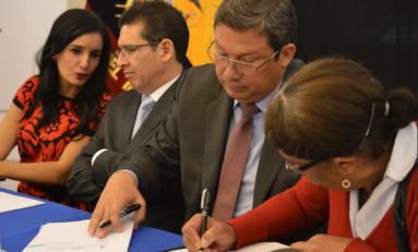 Gobierno ecuatoriano reparará a familiares de víctima de violación de Derechos Humanos