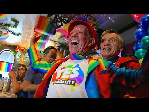 (Vídeo) Australia vota sí al matrimonio homosexual