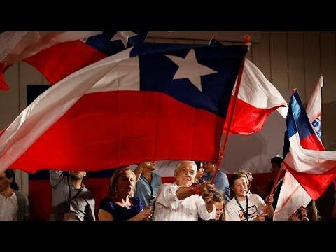 (Vídeo) Chile: Piñera y Guillier, a la segunda vuelta