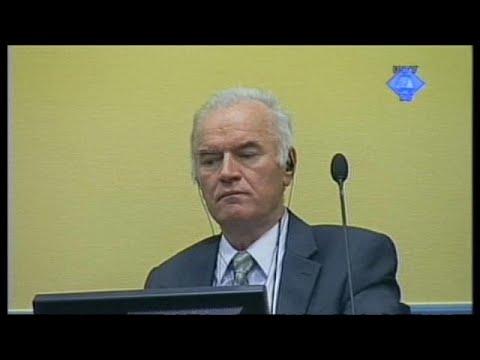 """(Vídeo) Ratko Mladic, el """"carnicero de los Balcanes"""""""