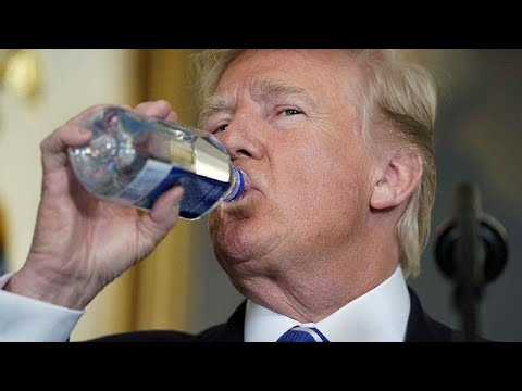 "(Vídeo) Trump y el ""Bottlegate"""