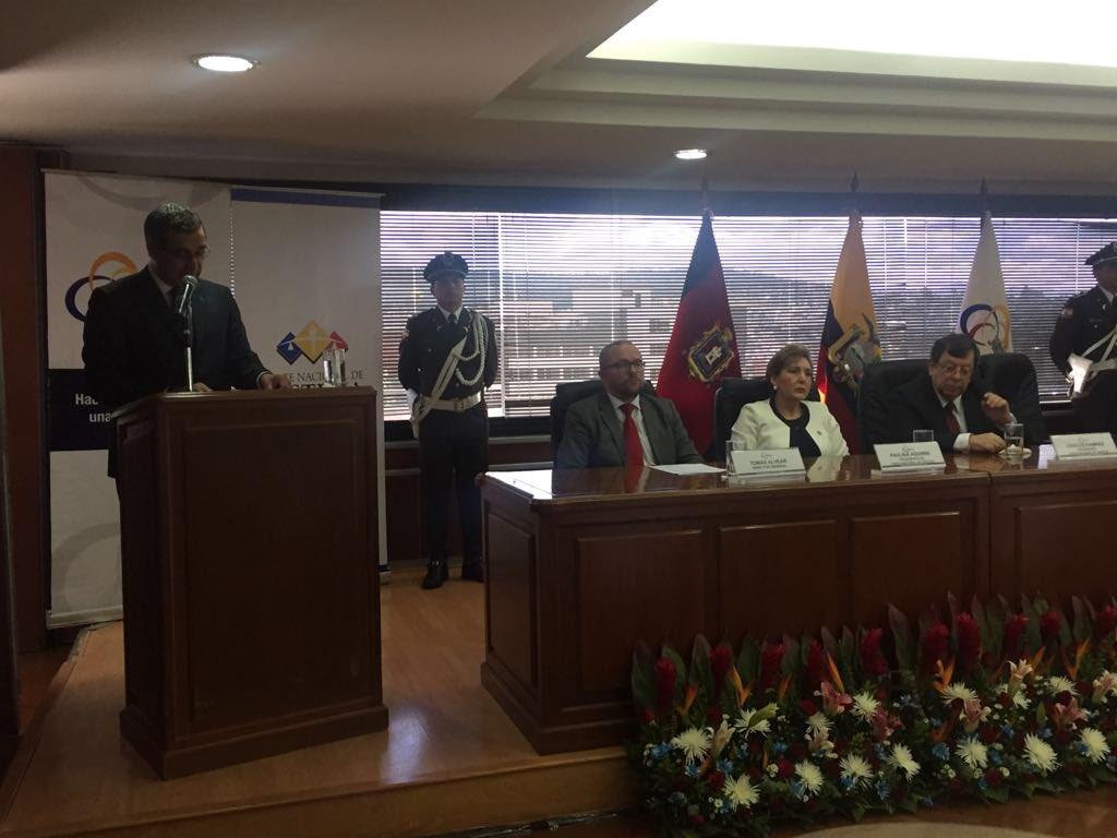 La Corte Nacional de Justicia estrena presidenta