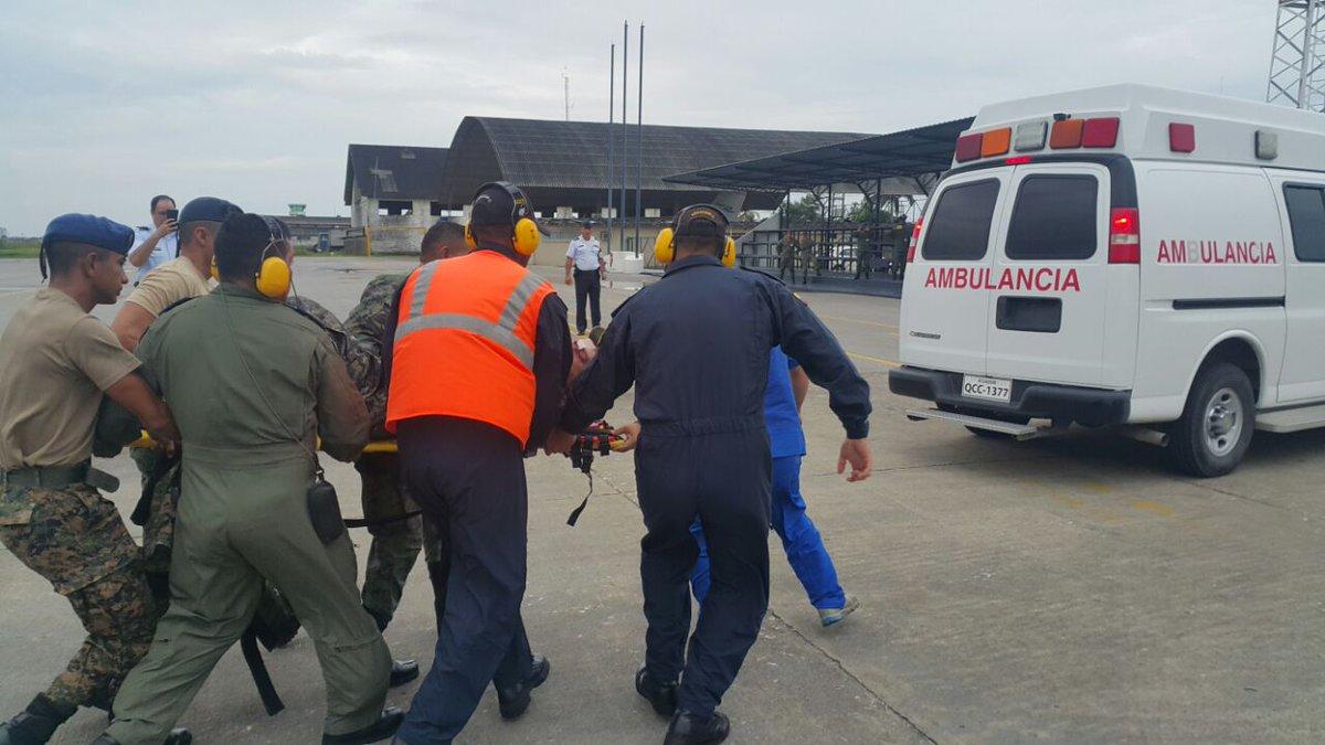 Bajo custodia dos mexicanos accidentados en avioneta en Ecuador
