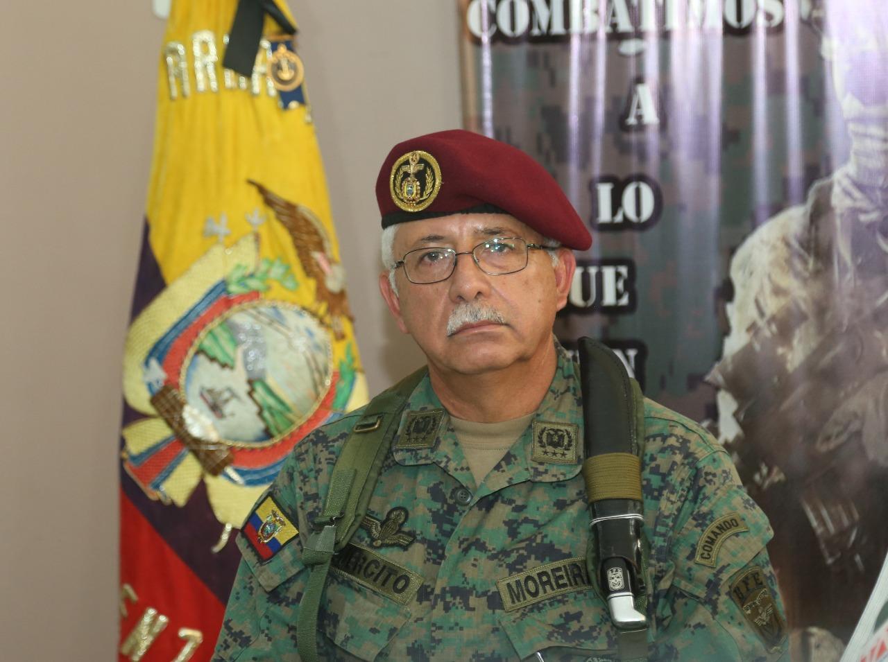 Roque Apolinar nuevo comandante del Ejército