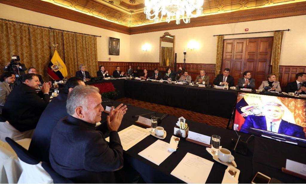 gabinete ampliado Moreno