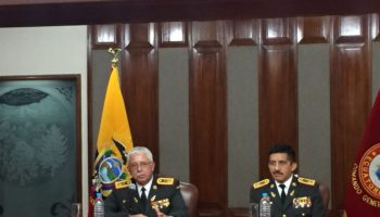 general de división Roque Moreira Cedeño comandante del Ejército