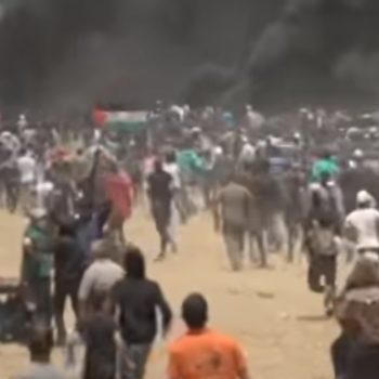 protestas franja de gaza
