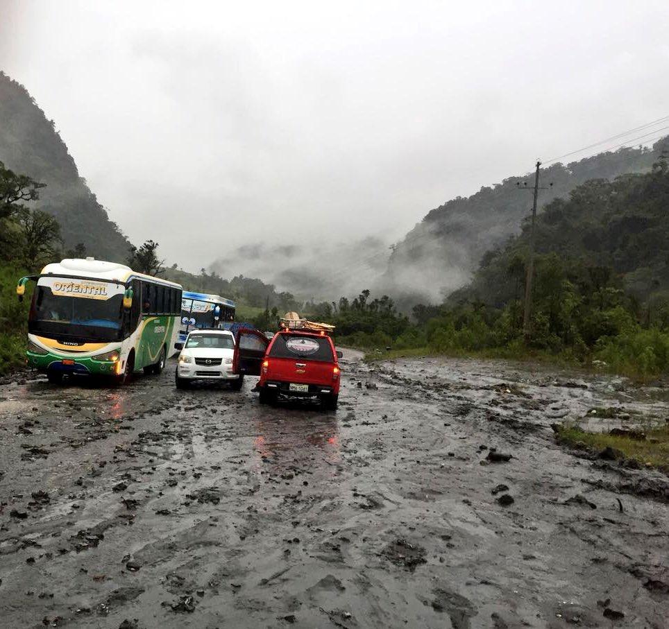 vias lluvias Baños Puho
