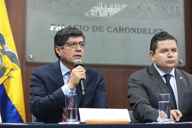 Canciller José Vavlencia