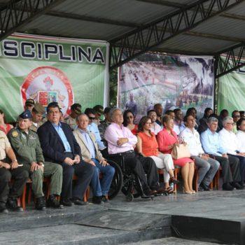 Moreno y militares